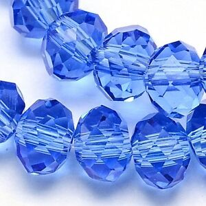 25 TSCHECHISCHE Kristall Perlen 6mm Glasschliff Braun TOPAZ  Rondell BEST X65