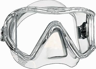 Mares i3 Asian Sunrise Ultra Wide View Diving Mask with Side View Lenses - Clear