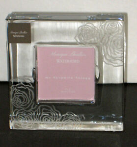 Monique-Lhuillier-Waterford-Favorite-Things-SUNDAY-ROSE-2-x-2-034-Frame-NEW-BOX