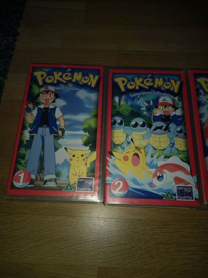 Animation, Pokemon, instruktør Pokemon