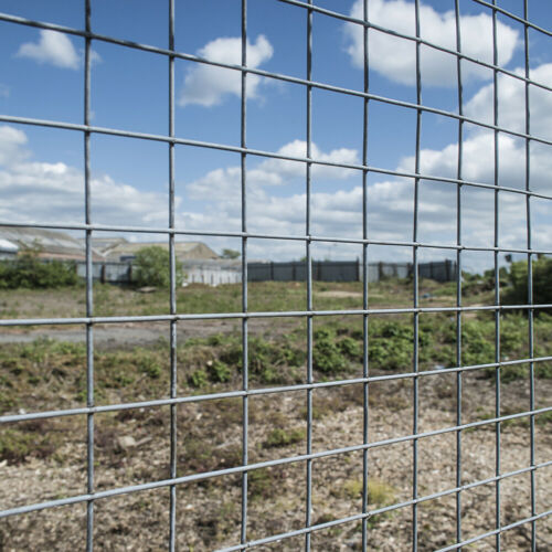 Galvanised 3948 15/30M Welded Cage Wild Fence In/Out Poultry Chicken Wire Mesh