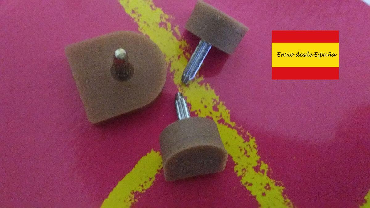 Moda jest prosta i niedroga 2 Tapas beige für Absätze Damen ohne Lärm 9 mm