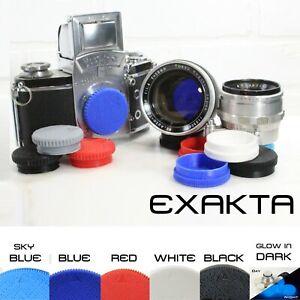 Exakta-Mount-Rear-Lens-Cap-Body-Cap-FORSTER-UK-US-EXA-Topcor-RE-Rear-Cap-Zeiss