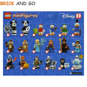 LEGO-Figurine-Minifigure-71024-Serie-Disney-2-Series-Au-Choix-NEUF-NEW