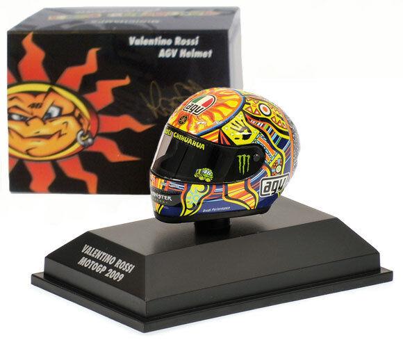 Minichamps Valentino Rossi Helmet - MotoGP 2009 1 8 Scale