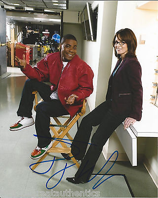 Movies Responsible Tracy Morgan Hand Signed Authentic 30 Rock Snl Cop Out Rio 8x10 Photo 4 W/coa