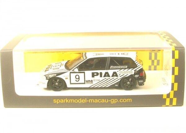 HONDA CIVIC EF9 no. 9 2nd GRP3 Macau Guia Race 1990 ( Koji Sato )