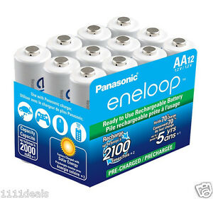 PANASONIC-ENELOOP-NEW-2100X-AA-NiMH-Batteries-12-pack
