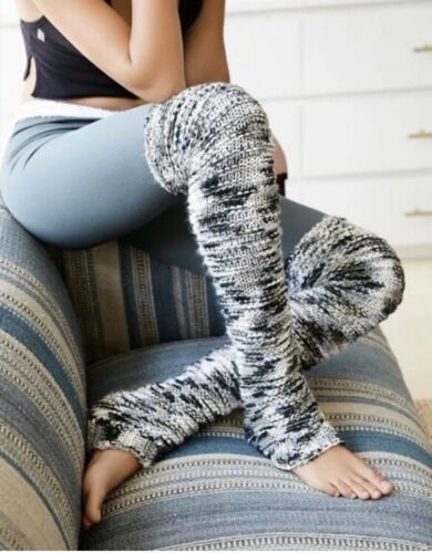FREE PEOPLE Mixed Tape Space Dye Bounce Marled Leg Warmers  O//S $38NWT ACC57421