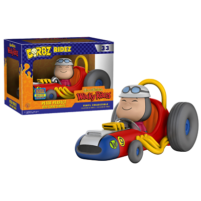 Animation Characters Charitable New Dorbz Ridez Wacky Races Peter Perfect W/ Turbo Terrific Figure Official