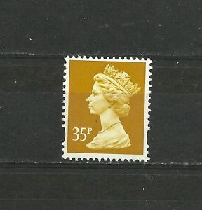 Great-Britain-Machin-35P-OFNP-PVA-2B-BRIGHT-Yellow-Fluor-Enschede-DG-350-3-1-MNH