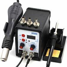 Solder Station Heat Gun Rework Detection Iron Welding Hot Air Blower Repair Tool
