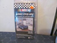 Nascar Jumbo Stick-ups 18 X 40 25 Stickers Mint In Package