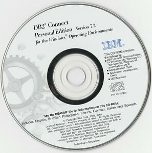 Classic-Pc-Software-IBM-DB2-Connect-Personal-Edition-V7-2-Released-2001