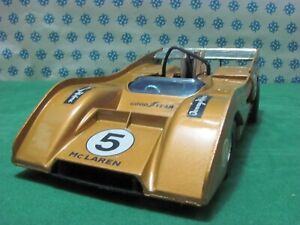 Vintage-McLAREN-CHEVROLET-M8F-Can-Am-1-26-Politoys-S9-Made-in-Italy-1974