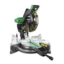 """Metabo HPT Dual Bevel 12"""" Miter Saw w/Laser Guide C12FDHSM Certified Refurbished"""