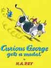 Curious George Gets a Medal by H A Rey (Hardback, 1974)