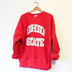 Ohio State Buckeyes Sweatshirt Vintage 80s Champion Reverse Weave Made In USA