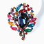 Betsey-Johnson-Jewelry-Big-Crystal-Flower-Charm-Women-039-s-Brooch-Pin-Party-Gift thumbnail 3