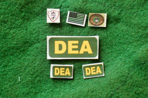 1//6 US Afghanistan DEA Special Forces ISAF patch