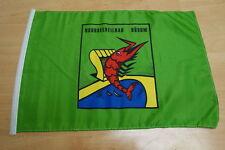 Fahne Flagge Büsum Stockfahne mit Hohlsaumm - 30 x 45 cm