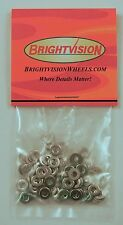 100 Stainless Steel Washers to fit 2-56 Screw-In Rivets For Customs Restorations