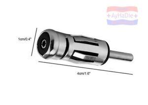 Kfz Autoradio Antenne-Adapter ISO Kupplung Buchse DIN Stecker Antennenstecker