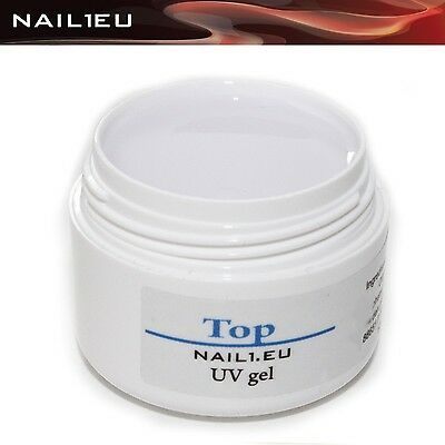 "PROFI UV Versiegler-Gel/ Versiegelungsgel GLANZ KLAR ""NAIL1EU TOP"" 7ml/Nagelgel"