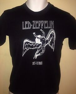 LED-ZEPPELIN-1977OFFICIAL-US-TOUR-REISSUE-YOUTH-14-16-T-SHIRT-ROCK-OUT-OF-PRINT