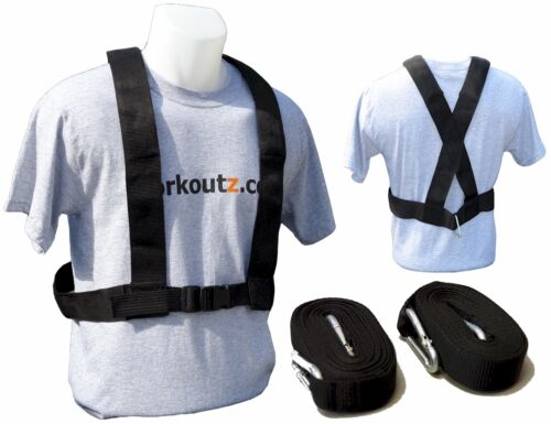 WORKOUTZ SPEED HARNESS FOR POWER PULLING TRAINING SLED WEIGHT FOOTBALL