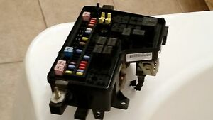 dodge ram 1500 fuse box location 2003 dodge ram 1500 under hood fuse box relay panel ... #4