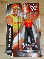 2014 Wwe Wwf Mattel Hulk Hogan Wrestling Figure Hulk Rules Shirt