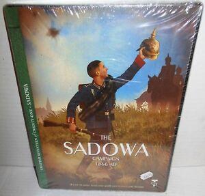 Boxed-BOARD-WAR-GAME-The-Sadowa-Campaign-1866-6-Week-War-Turning-Point-Sims