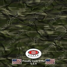 "Trad Green CL CAMO DECAL 3M WRAP VINYL 52""x15"" TRUCK PRINT REAL CAMOUFLAGE"