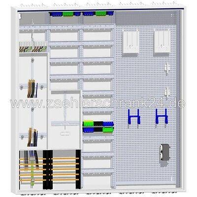 Hager Zählerschrank  5 Zähler  TSG Verteiler 1400 SLS
