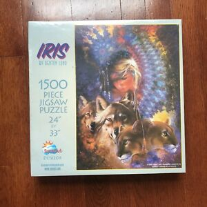 NEW-FACTORY-SEALED-Iris-By-Denton-Lund-1500-Piece-Puzzle-24x33