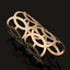 Punk-Women-Ladies-Gold-Plated-Hollow-Open-Wide-Bangle-Cuff-Bracelet-Jewelry-Gift thumbnail 5