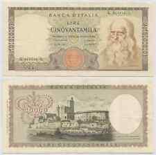 "REPUBBLICA ITALIANA - 50000 Lire ""Leonardo"" 1970 (3)"