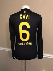 Details about Barcelona Spain Xavi Player Issue Meshed Jersey Md Prepared Football Nike Shirt