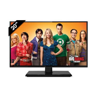 "Tv televisor television 20"" negra LED TDT HD PVR 12V / 220V"