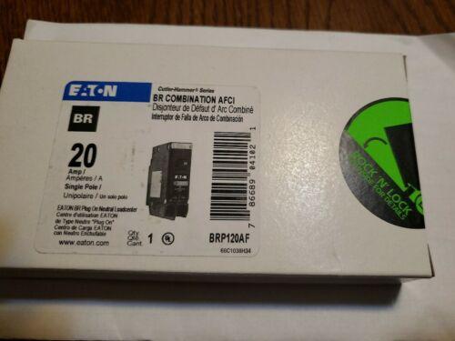 EATON Cutler Hammer BR COMBINATION ARC FAULT BREAKER BRP120AF