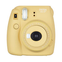 Fuji Instax Mini 8+ Fujifilm Instant Film Camera Honey on sale