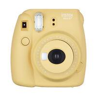 Fuji Instax Mini 8+ Fujifilm Instant Film Camera Honey on sale