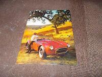 1966 Shelby Cobra 427 Original Factory Promotional Postcard Unused Very Rare
