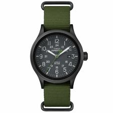 """Timex TW4B04700, Men's """"Expedition"""" Green Nylon Watch, Scout, TW4B047009J"""