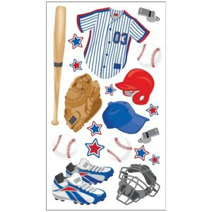 Foil-Baseball-Sports-Team-Stickers-Scrapbook-Planner-Papercraft-DIY-Craft-Party
