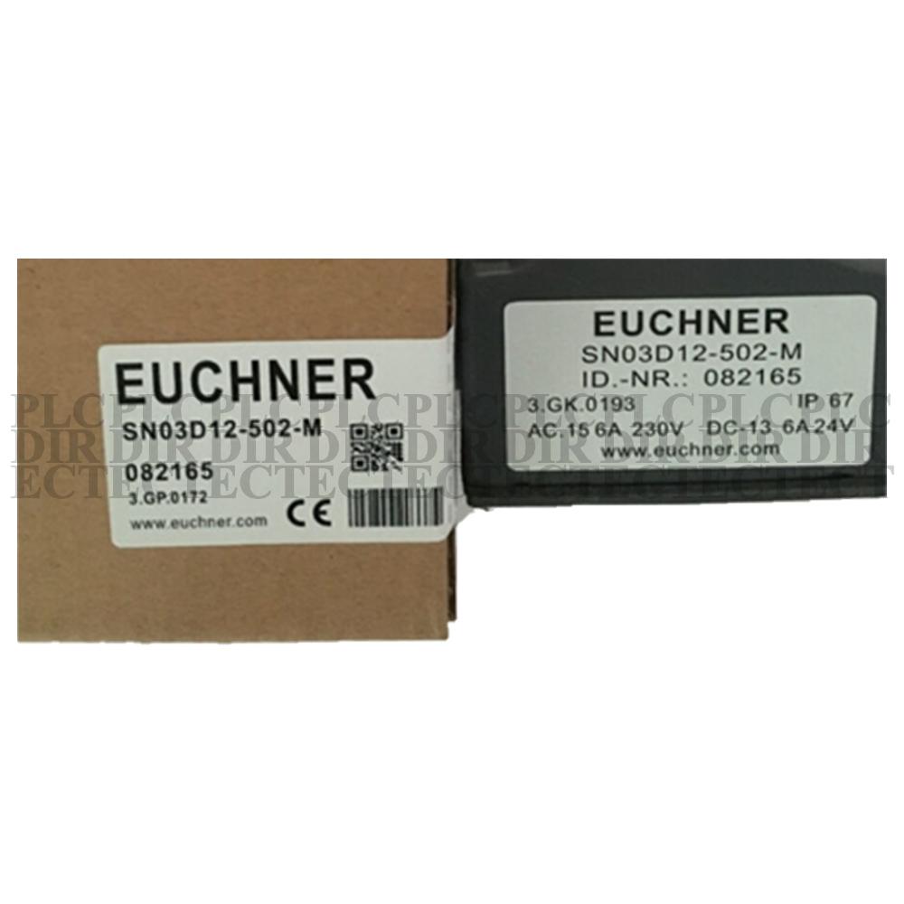 Euchner Limit Switch With 3 Plunger SN03D12-502-M
