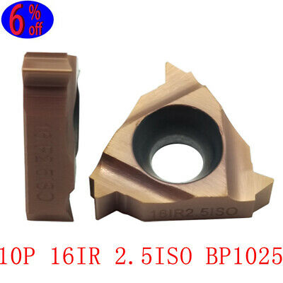 TPGH090202L KTN60  Threading Blade CNC Carbide Insert For Stainless Steel 10P