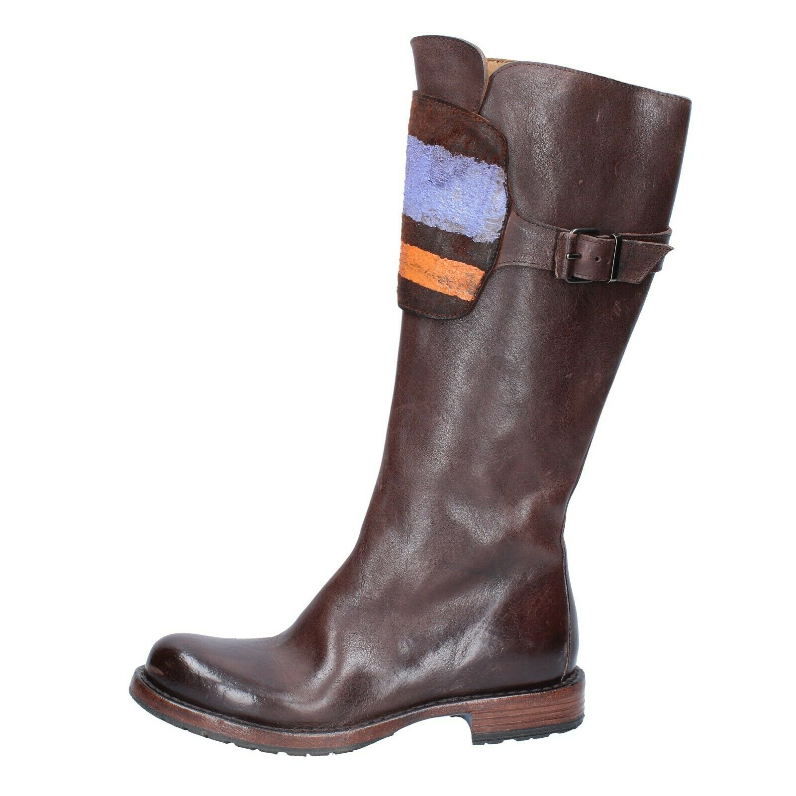 Women's shoes MOMA 4 (EU 37) boots brown leather BS469