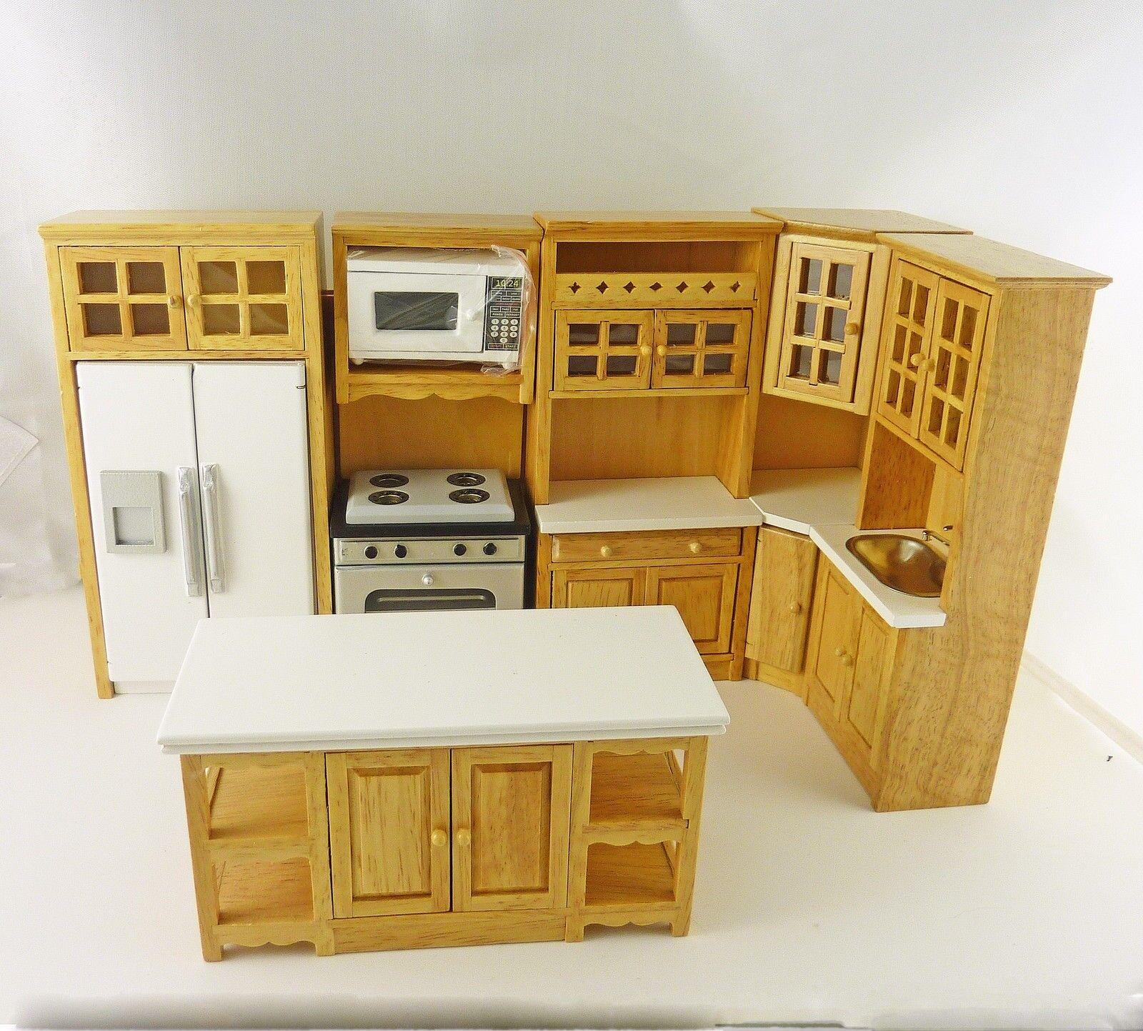 Brackets wooden 1//12 scale dollhouse miniature furniture CLA70261  4pack